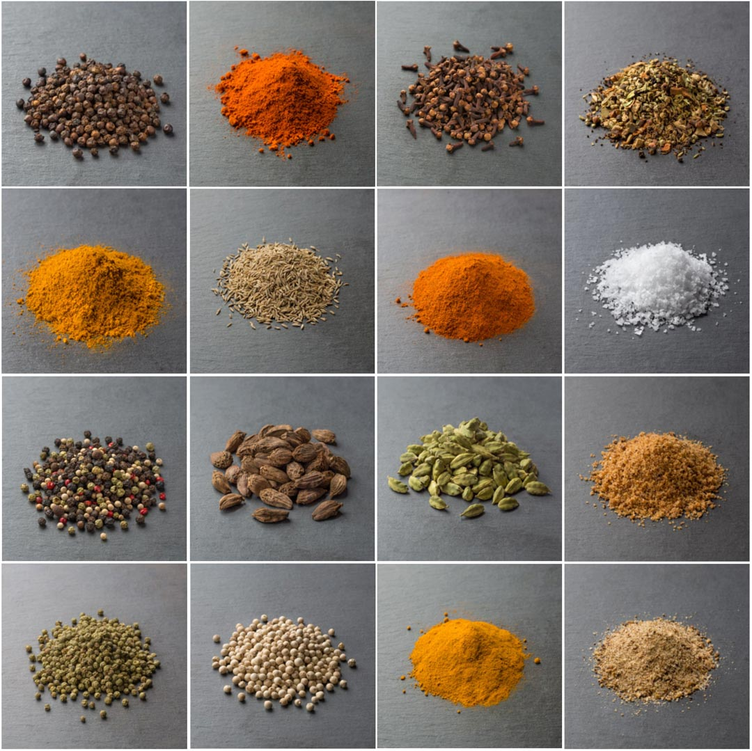 Our spice collection goes beyond our signature salt and pepper